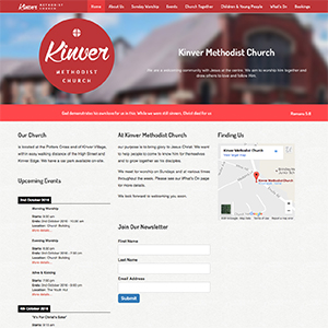 kinver methodist church website