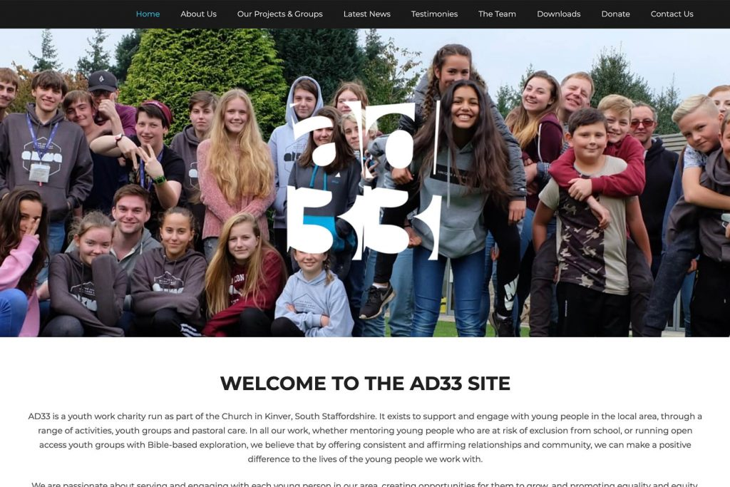 ad33 website design